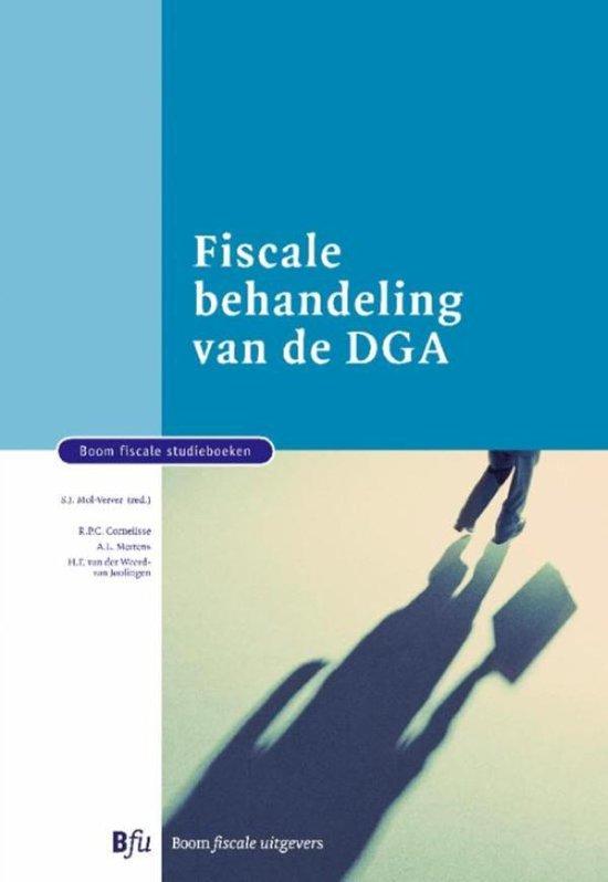 Boom fiscale studieboeken Fiscale behandeling van de DGA