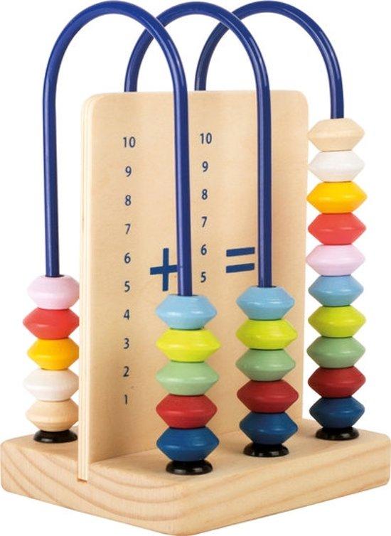 Afbeelding van Houten telraam - Klein telraam leren - FSC® - Houten speelgoed vanaf 4 jaar speelgoed