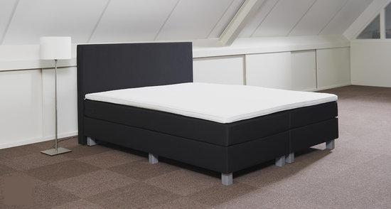 boxspring valencia 160 x 200 detroit anthracite. Black Bedroom Furniture Sets. Home Design Ideas