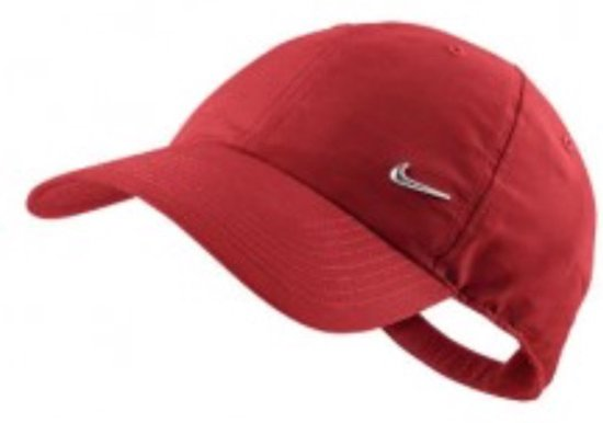 df77758e559 bol.com   Nike caps metal swoosh kleur rood