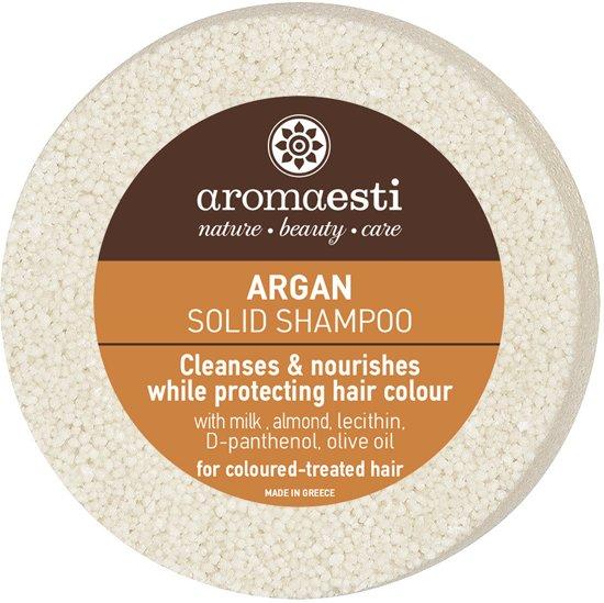 Aromaesti Solid Shampoo Bar Argan - gekleurd haar - 2 stuks