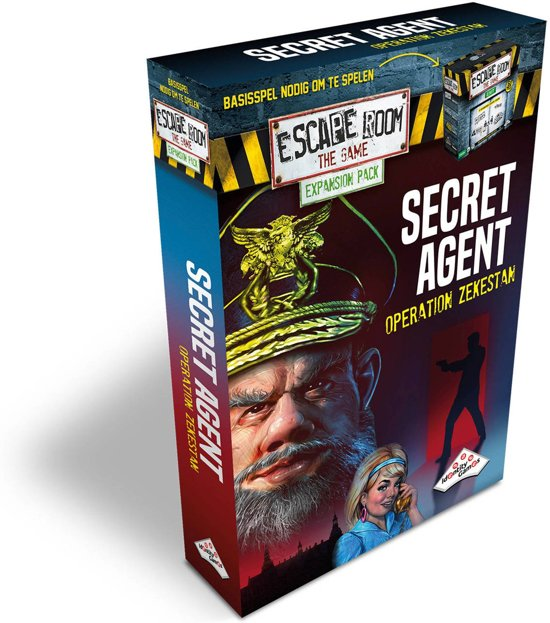 Uitbreidingsset Escape Room The Game Secret Agent
