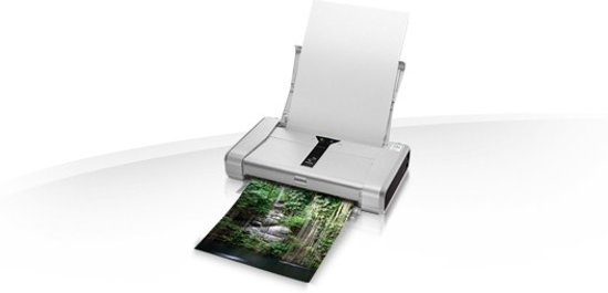 Canon Pixma IP100 - Inkjetfotoprinter + Accu Kit