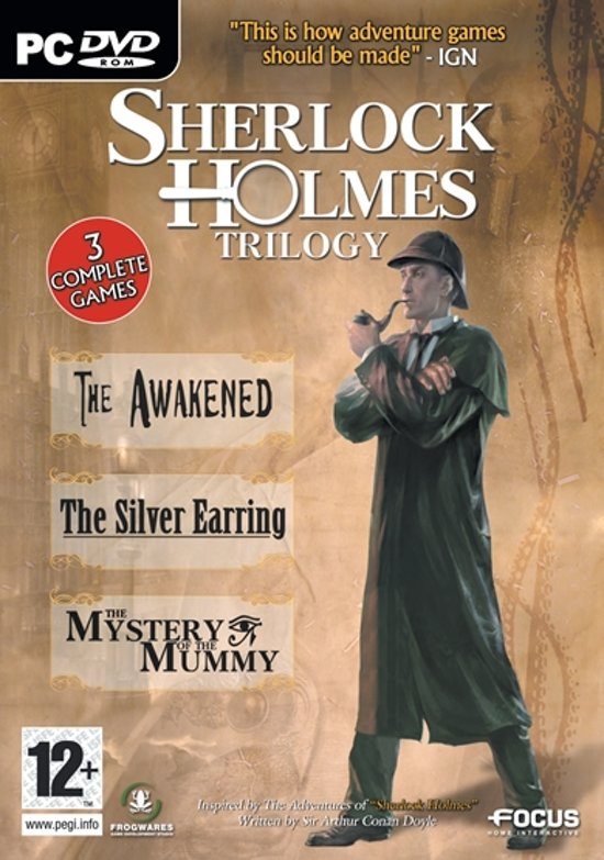 Sherlock Holmes Trilogy - Windows