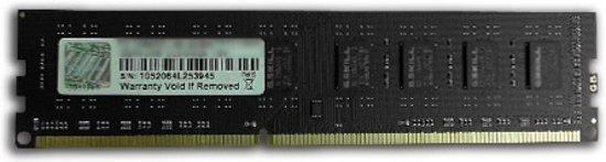 G.Skill 8GB DDR3-1600MHz 8GB DDR3 1600MHz geheugenmodule