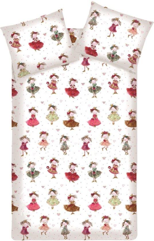 Beddinghouse Cute Princesses - Dekbedovertrek - Eenpersoons - 140 x 200/220 cm - Roze