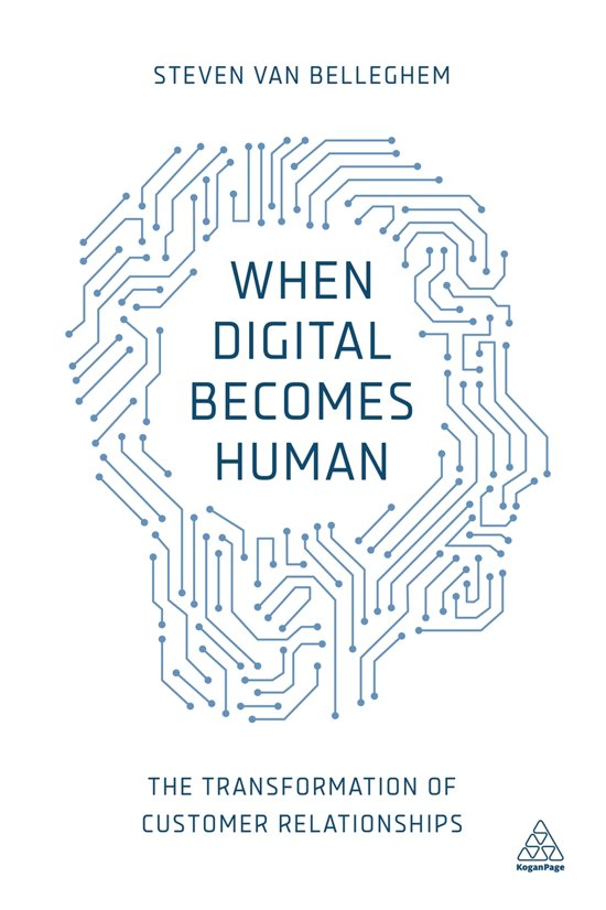 Boek cover When Digital Becomes Human van Steven van Belleghem (Paperback)