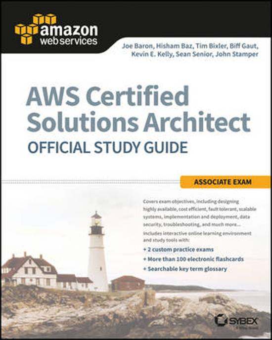 Boek cover AWS Certified Solutions Architect Official Study Guide van John Stamper (Paperback)