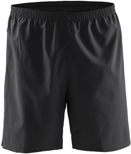 Craft Pep Shorts M 1904558 - Sportbroek - Black - Heren - Maat XL