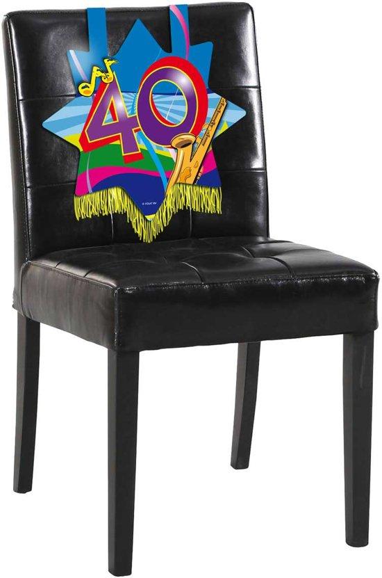 40 Jaar Stoeldecoratie Swirls