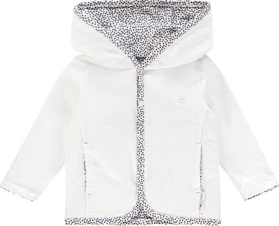 Noppies Vest Haye - White - Maat 50