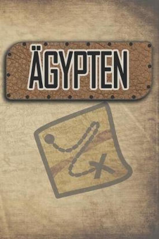 �gypten: Reisetagebuch, Notizbuch oder Urlaubsplaner mit Platz auf 120 wei�en linierten Dot Line Seiten zum Eintragen von Spr�c