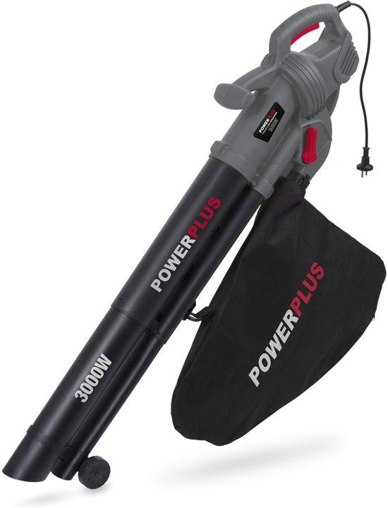 Powerplus POWEG9011 Bladblazer - blazen/zuigen/versnipperen - 3000 W - met 35 L opvangzak