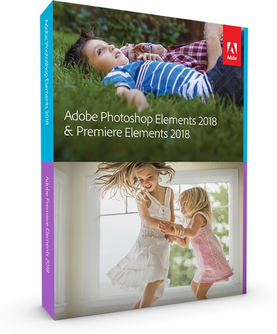 Adobe Photoshop Elements & Premiere Elements 2018 - Nederlands/ Engels/ Frans - Windows