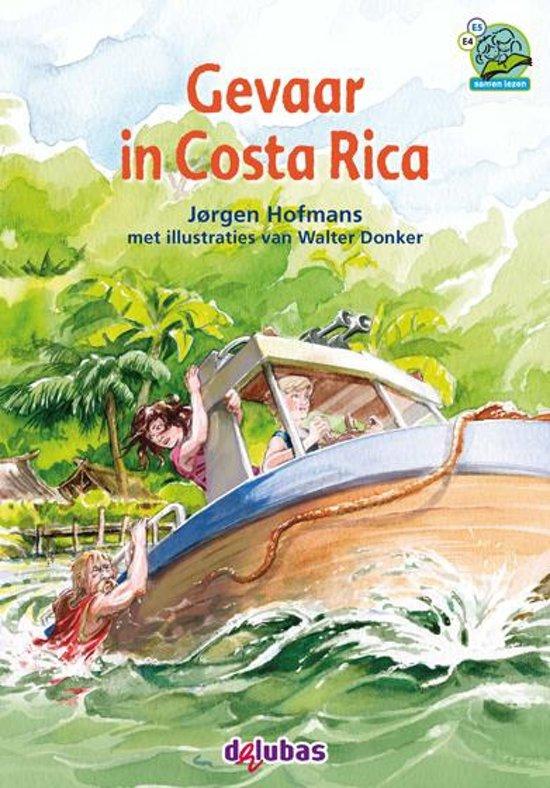 Samenleesboeken - Gevaar in Costa Rica cover