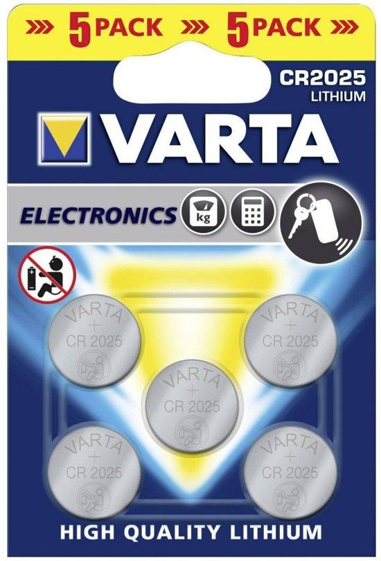 Varta Lithium CR2025 blister 5