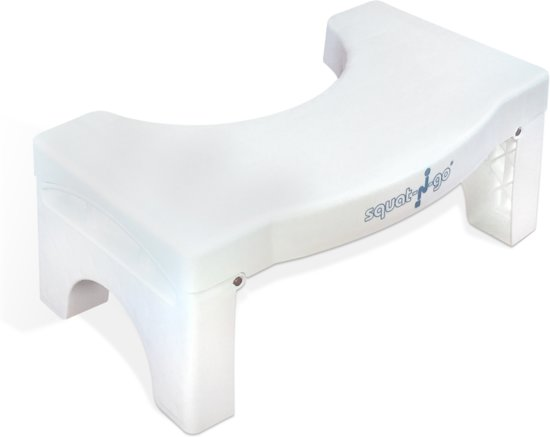Fine Squat N Go Toiletkrukje Inklapbaar Wit Juiste Houding Op Toilet Cjindustries Chair Design For Home Cjindustriesco