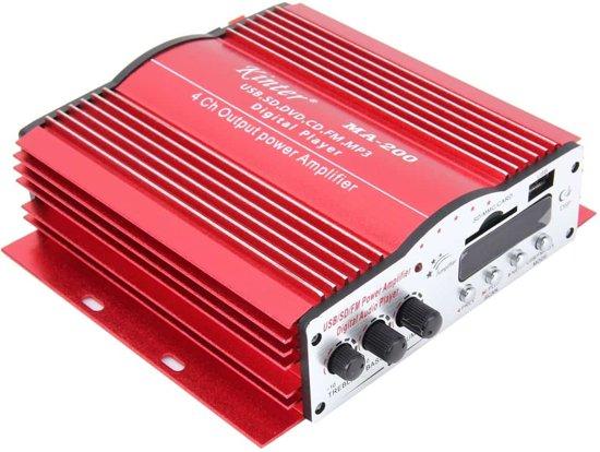 MA-200 Autoversterker Audio Subwoofer met afstandsbediening