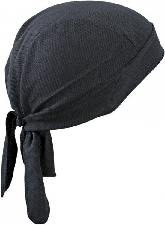 Sport bandana volwassen zwart