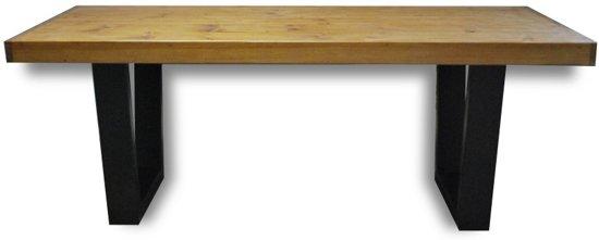 6 Persoons Tafel : ᐅ u2022 tafel fynn 4 6 persoons eettafel bruin zwart
