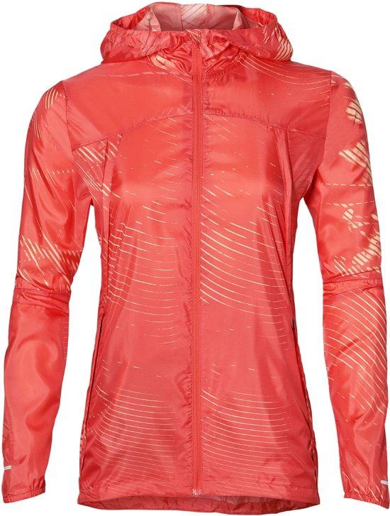 Asics 154551-1270 Sportjas - Maat M  - Vrouwen - oranje/geel