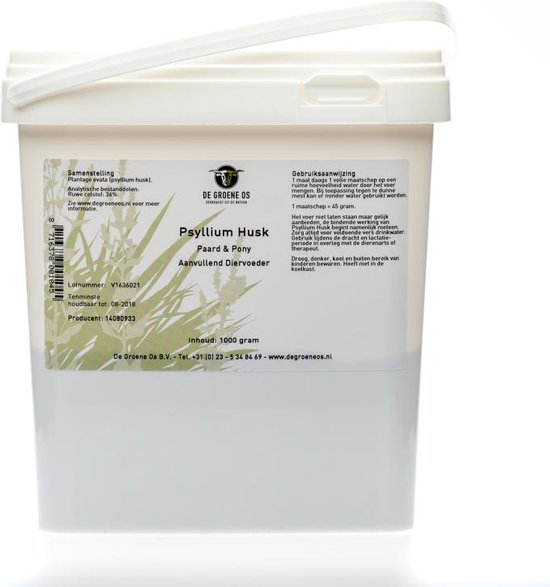 Groene Os Psyllium Husk - 1 kg