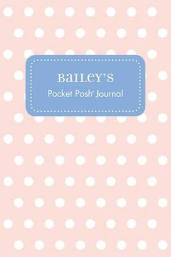 Bailey's Pocket Posh Journal, Polka Dot