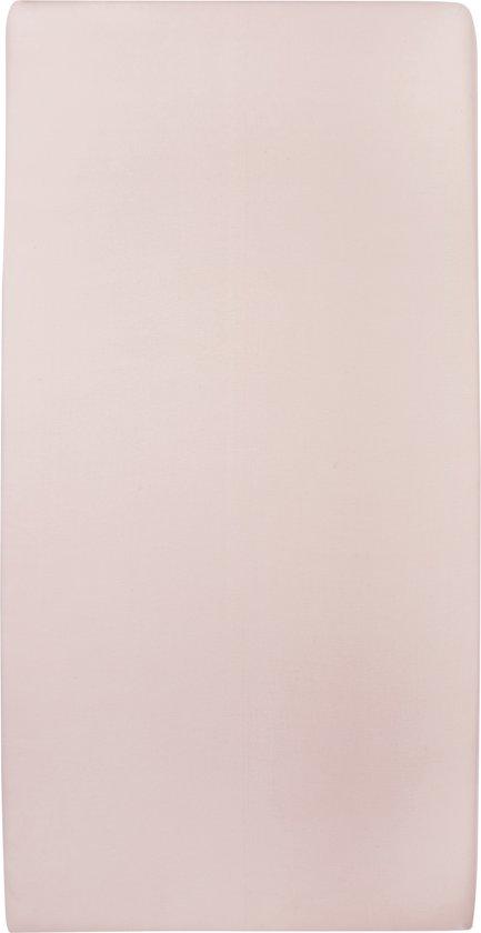 Meyco jersey hoeslaken 2-pack - 60x120 cm - lichtroze