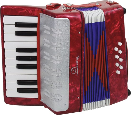DIMAVERY Accordion 1.5 octaves/8 basses
