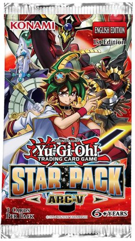 Afbeelding van het spel Yu-Gi-Oh! 10 Booster Pakjes Star Pack Arc-V