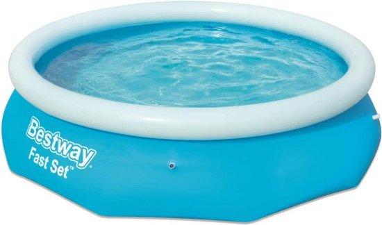 Bestway Fast Set zwembad rond opblaasbaar 305x76 cm 57266