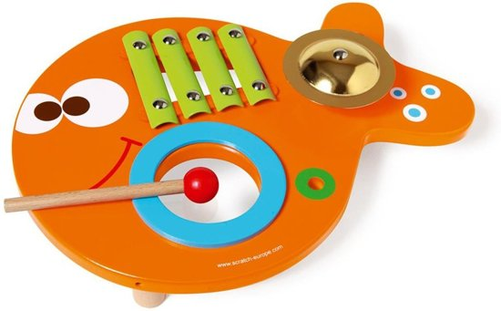 Scratch Maurice 3-in-1 Muziekvis