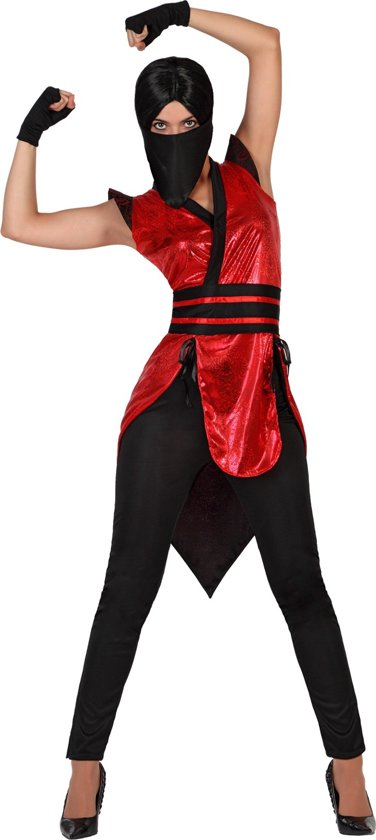 Carnavalskleding Dames Ninja.Bol Com Ninja Kostuum Voor Dames Verkleedkleding Xl Vegaoo