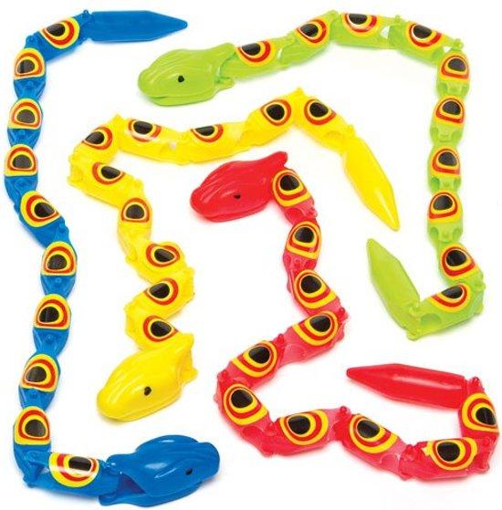 Speelgoed Wiebel Slangen Feestartikelen Voor Kinderen Ideaal Om Cadeau Te Geven5 Stuks