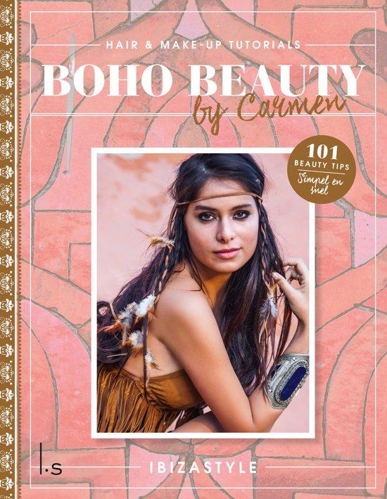 Boho beauty, make-up en haar