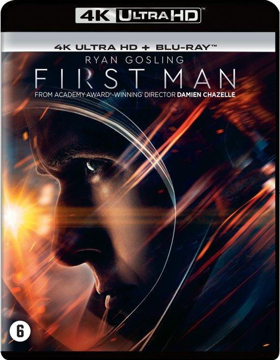 DVD cover van First Man (4K Ultra Hd Blu-ray)