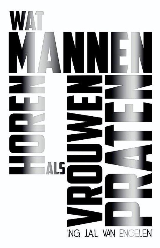 Boek cover Wat mannen horen als vrouwen praten van Johannes van Alblas (Paperback)