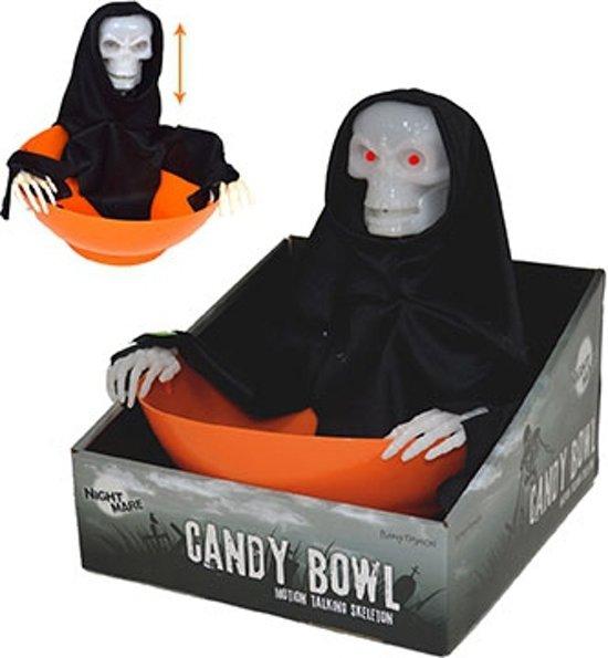 Halloween Snoep.Halloween Snoep Schaal Skelet