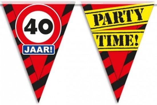 vlaggetjes 40 jaar bol.| Paperdreams Party Vlaggen   40 Jaar, Paper dreams  vlaggetjes 40 jaar