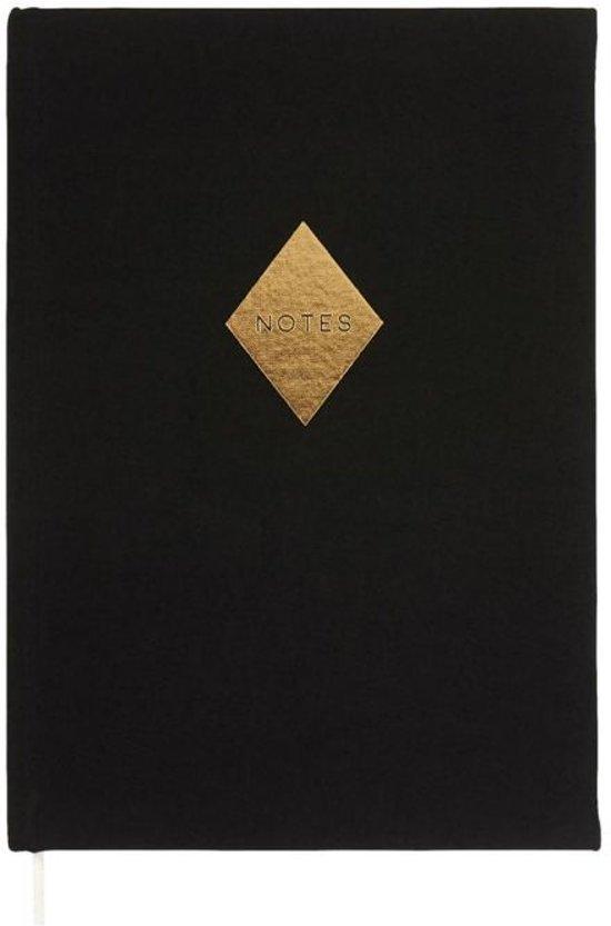 Moses Libri_x Notitieboek Notes Zwart 20,5 Cm