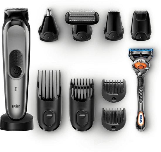 Braun Alles-in-één Trimmer MGK7021 Baardtrimmer En Haartrimmer Met Gillette Fusion5 ProGlide Scheermes