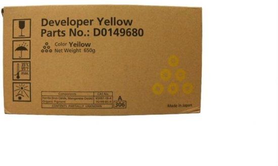 Ricoh MP C6000 DEVELOPER yellow