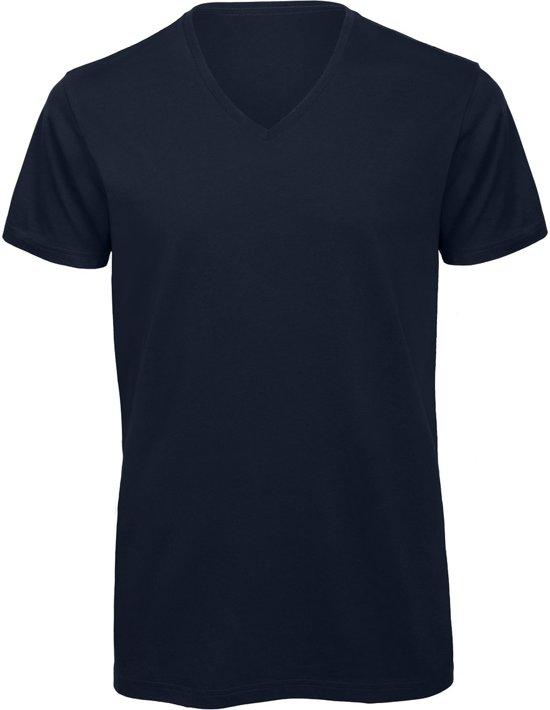 V T 5 shirt Blauw Kleur hals PackSenvi 100Katoenbiologisch S Qsdthr