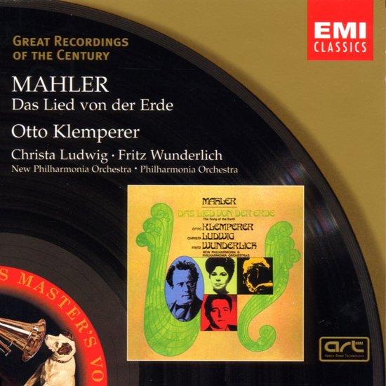 Mahler: Das Lied Von Der Erde / Klemperer