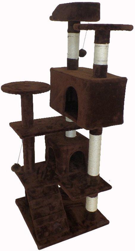Krabpaal Micki - Bruin 131 cm hoog 400576