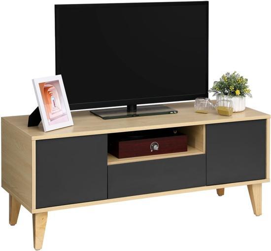 Massief Houten Tv Meubel.Tv Kasten Globos Giftfinder