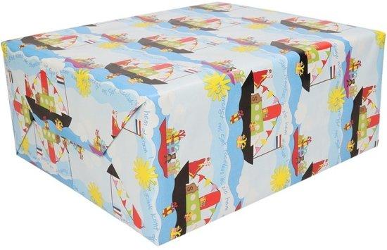 Sinterklaas Inpakpapier 250 X 45 Cm Cadeaupapier Kadopapier