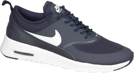 nike air max thea blauw wit