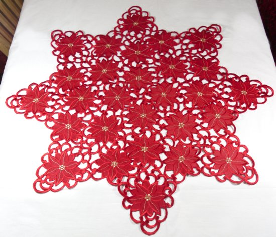 kerstkleed rood