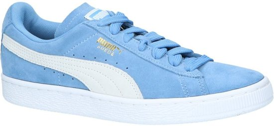d6637341d2a Lage Sneakers Licht Blauw Puma Suede Classic